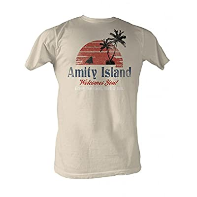 Jaws Amity Island Mens T-Shirt