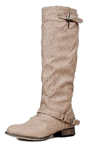 Riding Boots With Zipper - 6