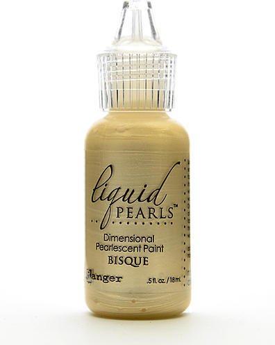 Ranger Liquid Pearls Pearlescent Paint (Bisque) 4 pcs sku# (Pearl Bisque)