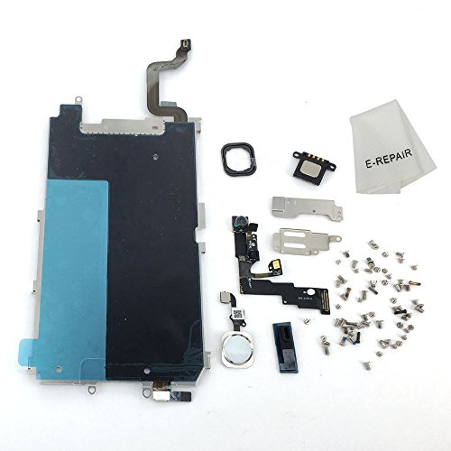 Screen LCD Metal Bracket Front Camera Flex Cable Small Parts Replacement for iPhone 6 (Lcd Bracket Screws)