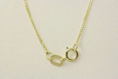 BJC® Solid 9ct White Gold Pendant Chain / Necklace 20 Inches Long 50cm 1.0grams bejBwuaOr