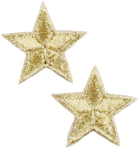 ld Stars 2/Pkg (Gold Star Brads)