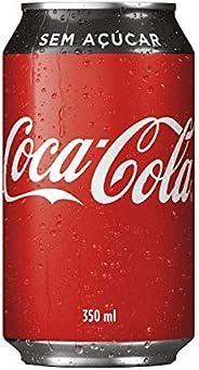 Refrigerante Coca Cola Zero lata 350ml