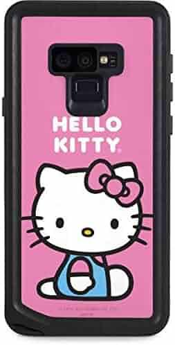 a8d69f4e7 Skinit Hello Kitty Galaxy Note 9 Waterproof Case - Hello Kitty Sitting Pink  Design - Sweat