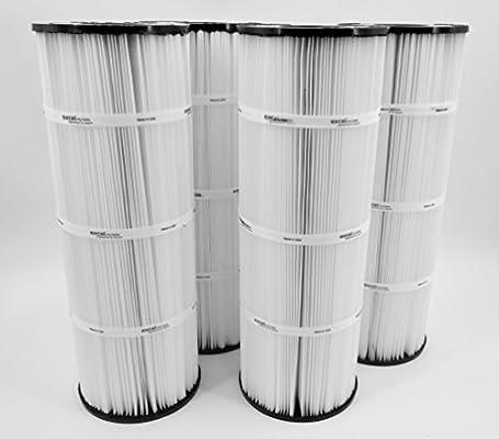4 Pack Excel filtros xls-726 piscina cartucho de filtro de repuesto para Purex CF-60, C-7460, fc-2150, pa75sv: Amazon.es: Jardín