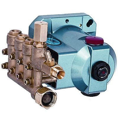 """Cat Pressure Washer Pump 3000Psi, 3/4"""" Hollow Shaft, With Unloader And Injector"""
