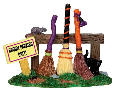 Lemax Spooky Town Broom Parking Rack # 44737 -