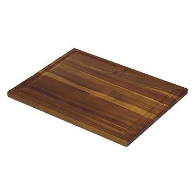 Mountain Woods 11.5  X 9  Acacia Wood Cutting Board w/ Juice Groove