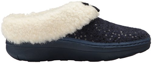 Navy Sequin Loaff Women's Midnight Snug Slipper fitflop xYBw6Zq