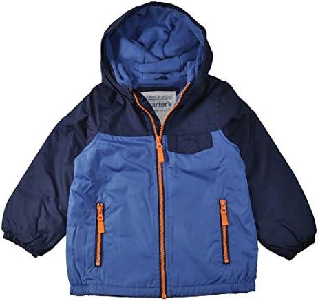کت آبی و نارنجی کوچک پسران کوچک کارتر ، کت های بیرونی روکش شده