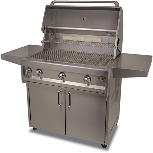 Alfresco Cart - Artisan Classic By Alfresco 36-Inch Natural Gas Grill On Cart With Rotisserie - ART2-36C-NG
