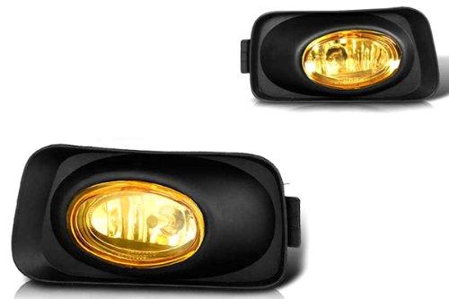 03-06 Acura Tsx Oem Fog Light - Yellow (Wiring Kit Included) (Acura Tsx Fog Light)