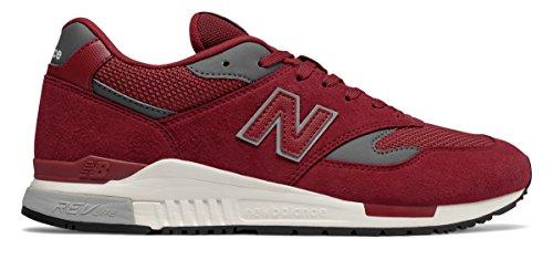 プロテスタント給料複数(ニューバランス) New Balance 靴?シューズ メンズライフスタイル 840 Maroon マルーン US 10.5 (28.5cm)