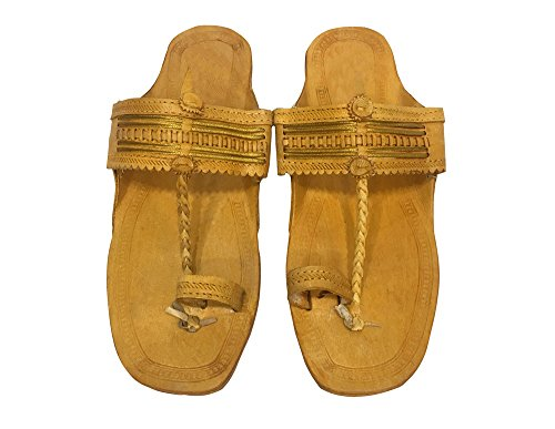 Step n Style , Chaussons pour homme marron camel