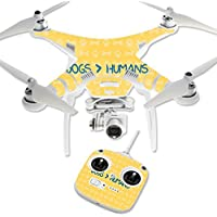 Skin For DJI Phantom 3 Standard – Dogs Over Humans | MightySkins Protective, Durable, and Unique Vinyl Decal wrap cover | Easy To Apply, Remove, and Change Styles | Made in the USA