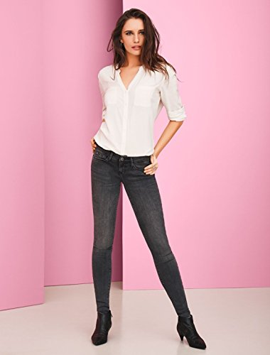 Vaqueros Mujer Denim Gris Skinny para Dark Only Grey OdqAA