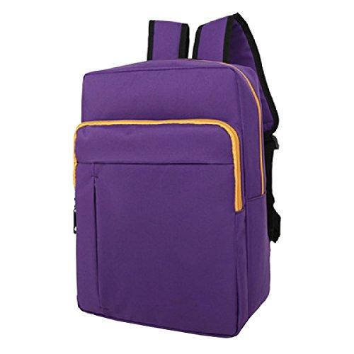 TUOZA Para Hombre Acampar Al Aire Libre Impermeable Multifunción Mochila De Viaje,Red-OneSize Purple