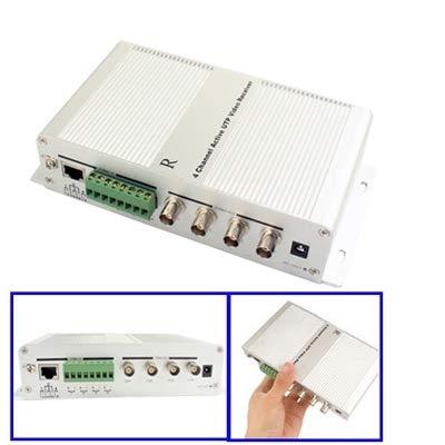 (Video Accessoris & Connectors RJ45 Socket 4 Channel Active BNC Plug UTP Video Receiver)