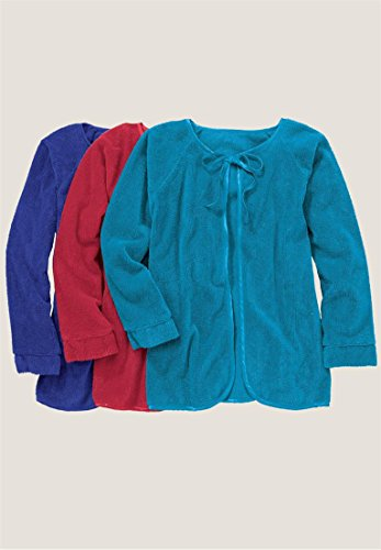 96907caa3145c Jual Only Necessities Women s Plus Size Chenille Bed Jacket - Robes ...
