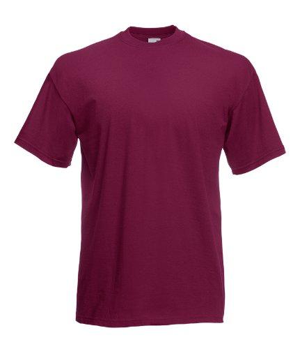 Fruit of the Loom Valueweight camiseta Burgundy