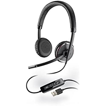 Plantronics Blackwire 500 C520-M USB Binaural Microsoft-Certified Version Headphone