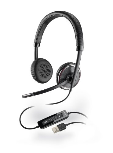 Plantronics Blackwire 500 C520-M USB Binaural Microsoft-Certified Version (Binaural Headphone)