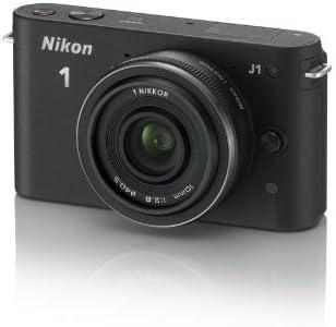 Nikon 1 J1 Cámara EVIL - Negro (10mm Kit con 1 objetivo, 10MP) 3 ...
