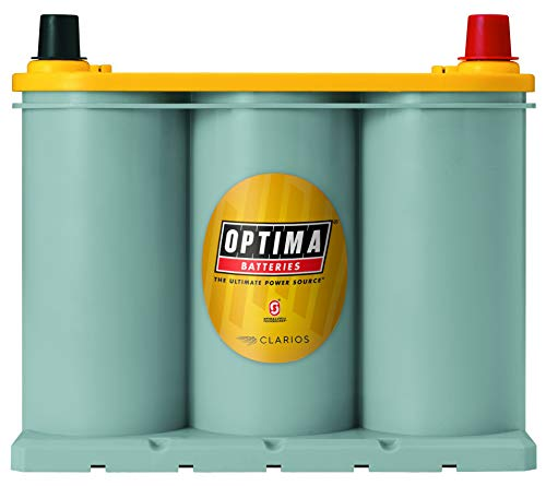 Optima Batteries 8040-218 D35 YellowTop Dual Purpose Battery (Best Suv Battery 2019)