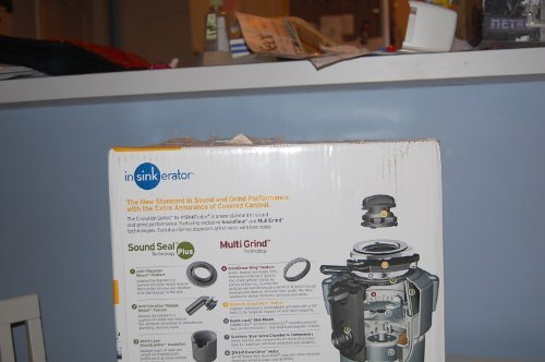 InSinkErator COVER CONTROL PLUS Evolution 3/4 HP Batch Feed Garbage Disposal wit, Power Cord Included