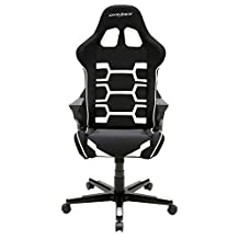 DXRacer Origin Series DOH/OC168/NW Racing Bucket Seat Office Chair Gaming Chair Ergonomic Computer Chair eSports Desk Chair Executive Chair Furniture With Pillows (Black/White)