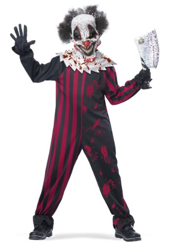 California Costumes Killer Klown Child Costume, X-Large (Scary Woman Halloween Costume)