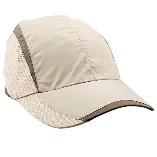 Golf Lightweight Cap (squaregarden Baseball Cap Hat,Running Golf Caps Sports Sun Hats Quick Dry Lightweight Ultra Thin,Beige,One Size)