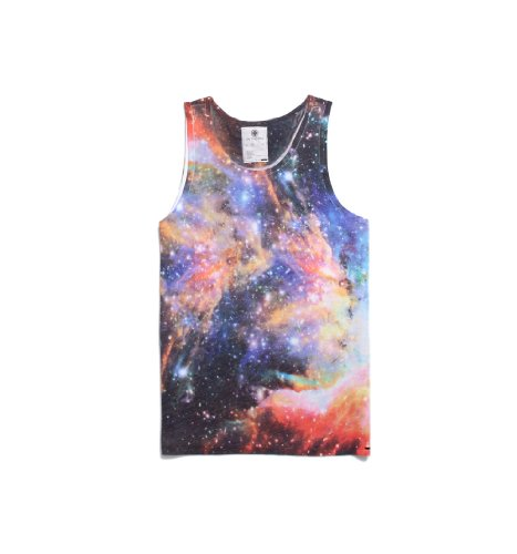 On The Byas Mens Alvin Cosmic Sublimated Tank Top
