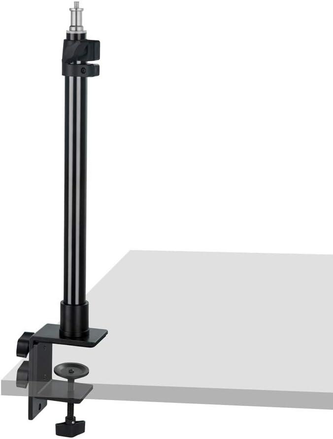 Low Level Light Stand Hochleistungsstativ f/ür Fotografie Patentiertes Stativ Funktioniert mit Blitzk/öpfen Ringlichtern Softbox und Reflektoren Blitzger/äten Regenschirmen