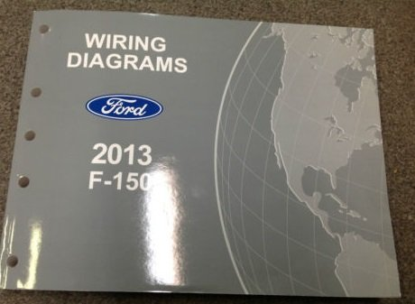 2013 ford truck f150 f-150 wiring electrical diagram manual oem new  factory: ford: amazon.com: books  amazon.com