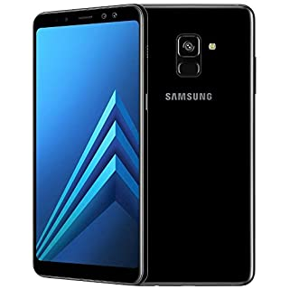 "Samsung Galaxy A8+ (2018) Factory Unlocked SM-A730F SINGLE SIM 32GB 4GB Ram, 6"" Screen, 16MP Rear Camera + Dual Frontal Camera 16MP+8MP, IP68, 4G LTE International Version No Warranty (Black)"