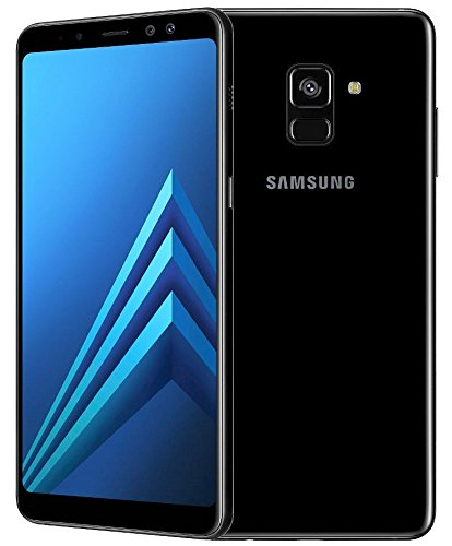 Samsung Galaxy A8 (2018) Factory Unlocked SM-A530F 32GB 4GB Ram, 5.6″ Screen, 16MP Rear Camera + Dual Frontal Camera 16MP+8MP, IP68, 4G LTE International Version No Warranty (Black)