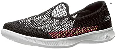 Skechers Womens Go Step Lite - Whispy Go Step Lite - Whispy Black Size: 5.5