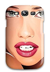 Fashionable Fljxltm719Dufqp Galaxy S3 Case Cover For Amazing Adriana Lima Protective Case