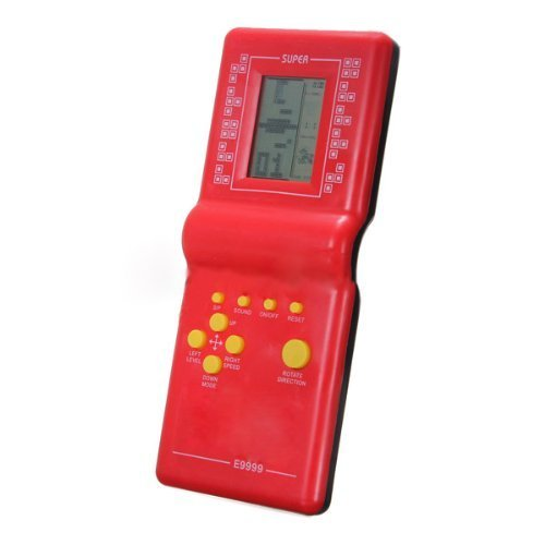 BARGAIN HOUSE Kids' Toys Educational Tetris Game HandHeld LCD Electronic Toys Brick Game Time-out
