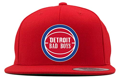RED Snapback Detroid Thomas Lambeer Bad Boys Hat