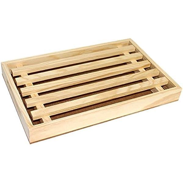 Compra Ruibal - Tabla para cortar pan de madera de 3 x 30 x 19 cm ...
