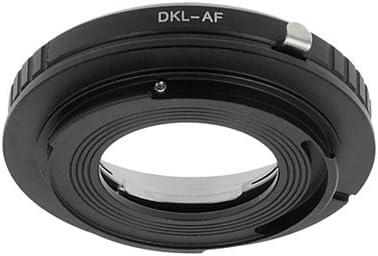 A57 A900 For Sony A100 A300 A450 A65 A380 A290 SLT-A35 A37 A230 A700 A550 A560 A200 A33 A500 A850 A330 A350 A580 A390 A55 Fotodiox Lens Mount Adapter A77 Voigtlander Bessamatic Retina DKL lenses DKL lens to Sony Alpha Camera