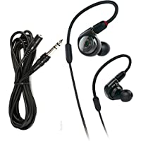 Audio Technica ATH-E40 In Ear Monitors with Extension Cable