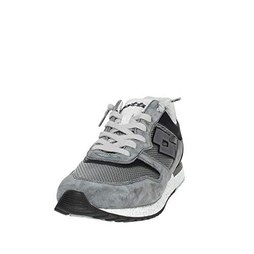 Sneakers Grigio Suede Ginza Leggenda Uomo Mesh EU Lotto Tokyo 41 BxqwRYCngO