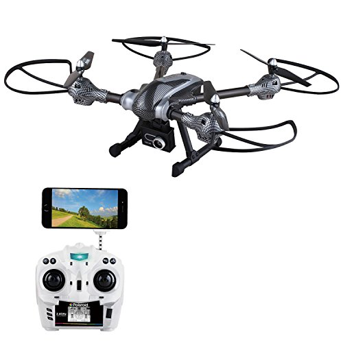 Polaroid Airplanes Quadcopter Drone, Silver