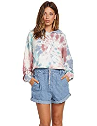 Women's Knot It Tie Dye Hooded Sweatshirt
