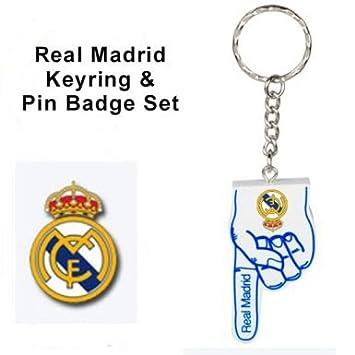 Real Madrid llavero y juego de pines: Amazon.es: Deportes y ...