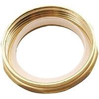 """Polished Brass Westbrass D425-03 1-1//2/"""" Brass Slip Joint Nut"""