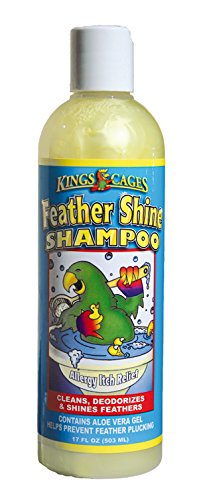 Kings Cages Feather Shine Shampoo 17 Oz